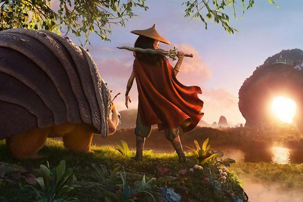 """Putri Disney dari Asia Tenggara """"Raya and The Last Dragon""""."""