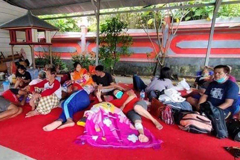 Gempa Sulbar: Umat Hindu di Mamuju Kota Mengungsi di Pura Stana Dewata, 9 Orang Mengalami Luka
